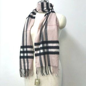 BURBERRY 3994133 Giant check fringe Scarf Scarves